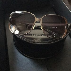 Marc by Marc jacobs sunglasses black and gunmetal